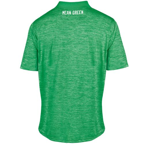 Champion™ Men's University of North Texas Synthetic Colorblock Polo Shirt - view number 2