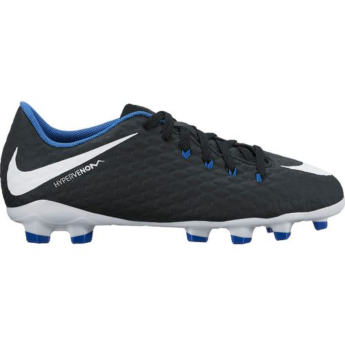 Nike Boys' Hypervenom Phelon III Jr. Firm-Ground Soccer Cleats