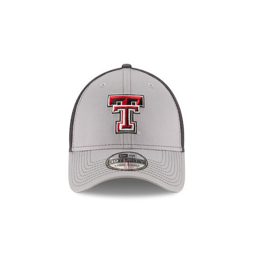 New Era Men's Texas Tech University Grayed Out Neo 39THIRTY Cap - view number 6