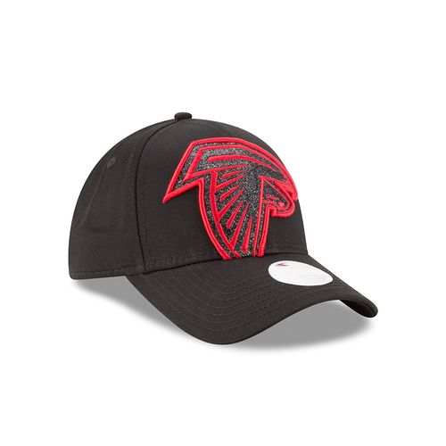 New Era Women's Atlanta Falcons Glitter Glam 9FORTY Cap - view number 3