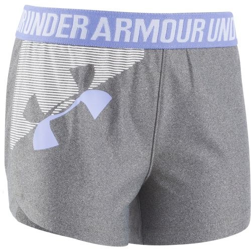 Under Armour Girls' Graphic Play Up Short - view number 1