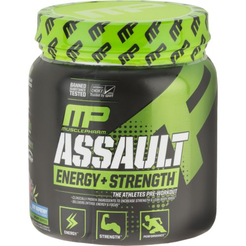 Display product reviews for MusclePharm Assault™ Pre-Performance Amplifier