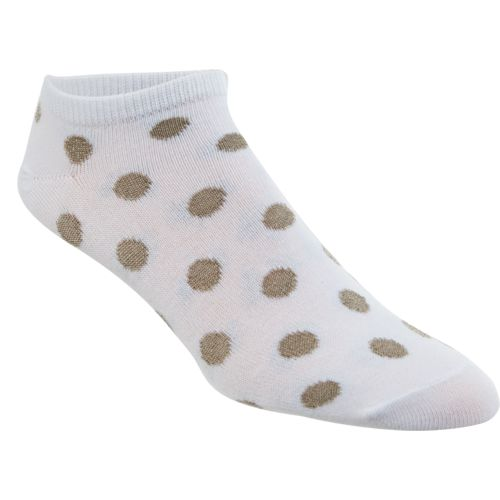 BCG Women's Neutral Shiny Dot Fashion Socks 6 Pairs