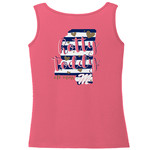 Image One Women's University of Mississippi Comfort Color Tank Top - view number 1