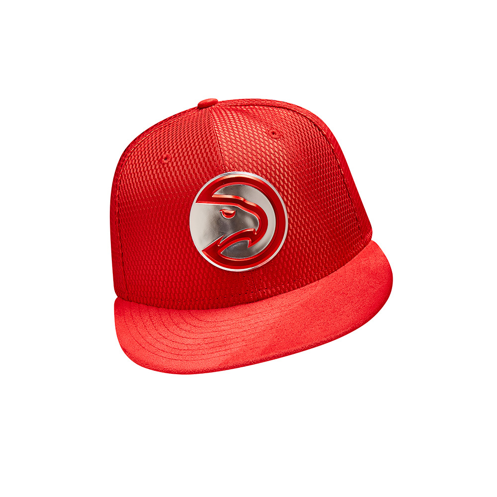New Era Men's Atlanta Hawks 59FIFTY Team On Court Cap