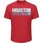 Majestic Men's Houston Rockets James Harden 13 Vertical Name and Number T-shirt - view number 2