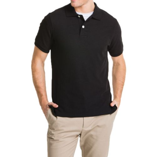 Lee Young Men's Short Sleeve Pique Polo Shirt - view number 1