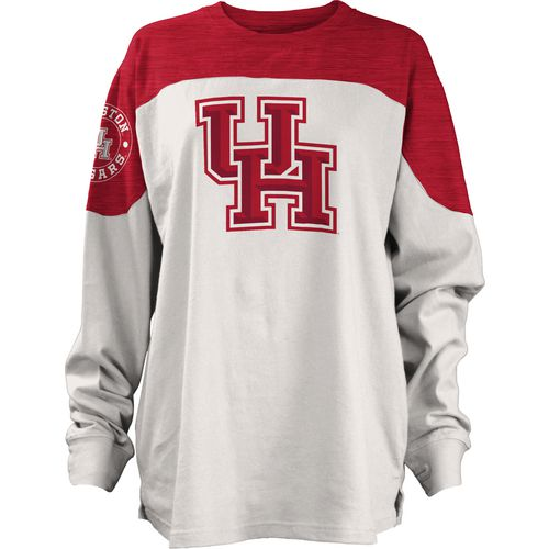 Three Squared Juniors' University of Houston Cannondale Long Sleeve T-shirt