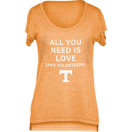 Chicka-d Women's University of Tennessee Scoop-Neck T-shirt