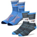 For Bare Feet Men's Oklahoma City Thunder Father's Day Socks - view number 1