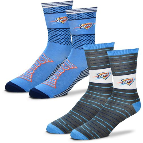 For Bare Feet Men's Oklahoma City Thunder Father's Day Socks
