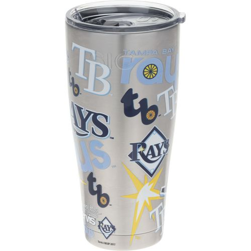 Tervis Tampa Bay Rays 30 oz All Over Stainless-Steel Tumbler - view number 1