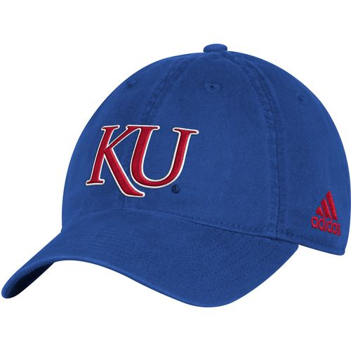 adidas Men's University of Kansas Big Logo Slouch Adjustable Cap
