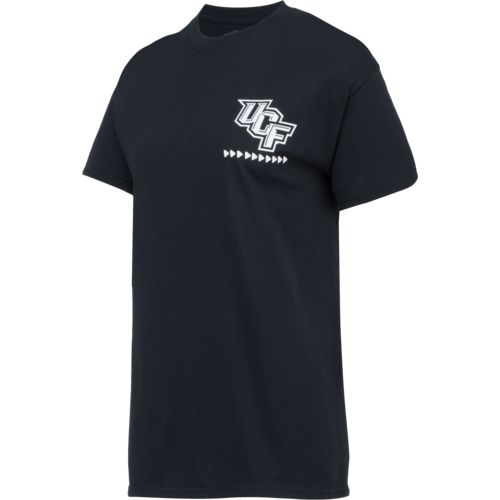 New World Graphics Women's University of Central Florida Terrain State T-shirt - view number 3