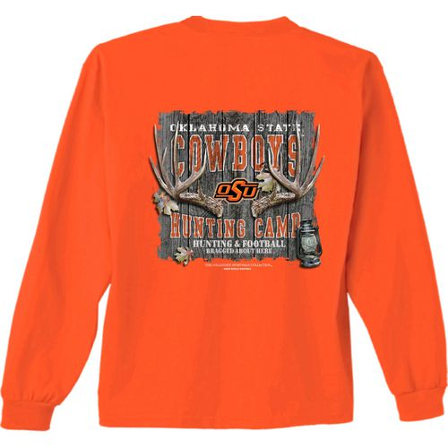New World Graphics Men's Oklahoma State University Hunt Long Sleeve T-shirt
