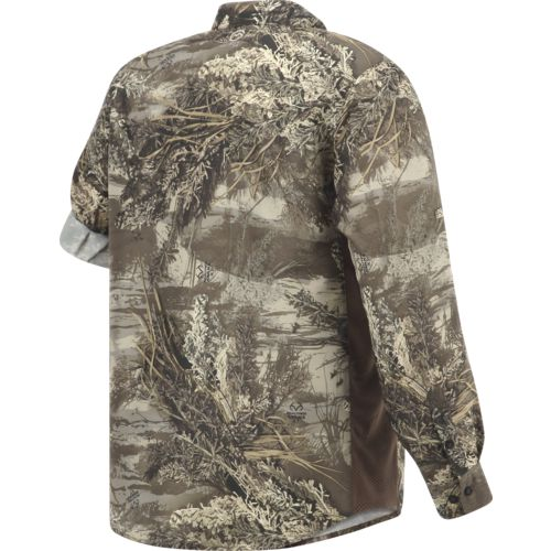 Magellan Outdoors Men's  Eagle Pass Deluxe  Long Sleeve Shirt - view number 2