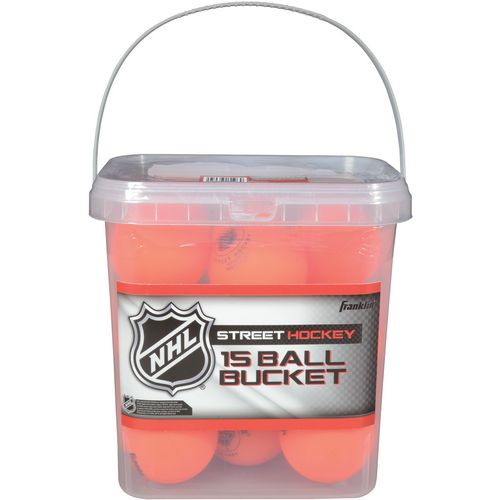 Franklin HD Street Hockey Balls 15-Pack