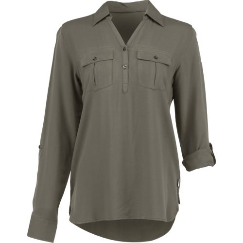 Magellan Outdoors Women's Adventure Gear Long Sleeve Henley Shirt