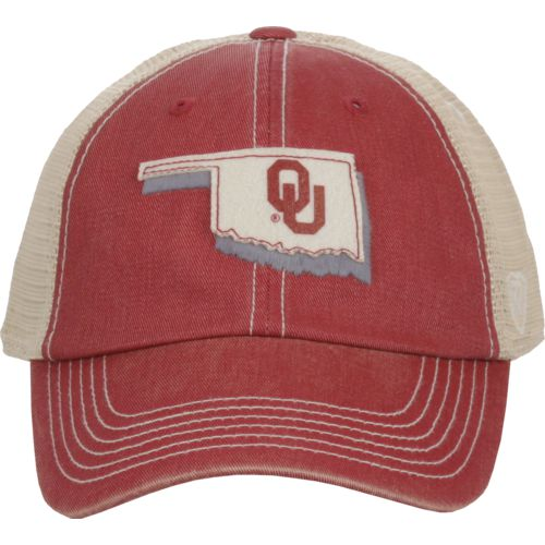 Top of the World Men's University of Oklahoma United 2-Tone Adjustable Cap