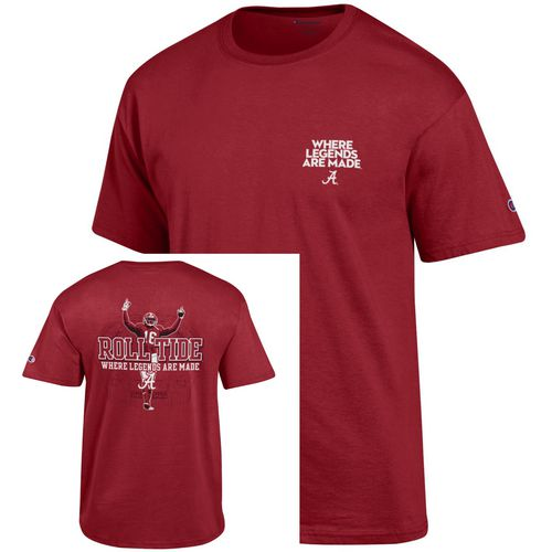 Champion Men's University of Alabama 2017 Football Fan T-shirt