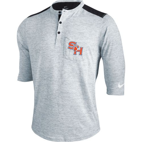 Nike Men's Sam Houston State University 3/4 Sleeve Henley T-shirt