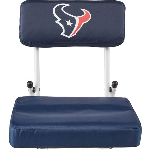 Logo Houston Texans Hardback Stadium Seat
