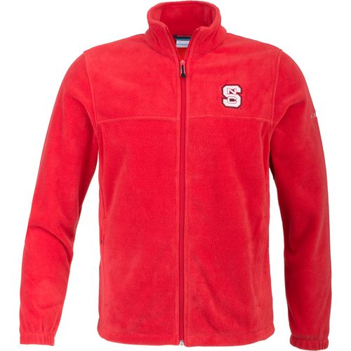 Columbia Sportswear Men's North Carolina State University Flanker Full Zip Fleece