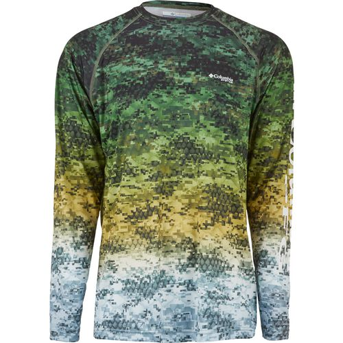 Display product reviews for Columbia Sportswear Men's Terminal Tackle Camo Fade Long Sleeve T-shirt