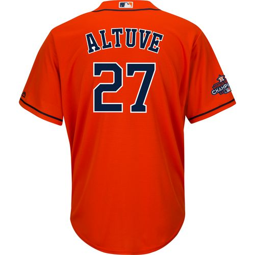 Majestic Men's Astros 2017 World Series Altuve Jersey with Patch