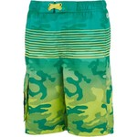 O'Rageous Boys' Gradient Camo Printed Boardshorts - view number 1