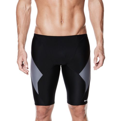 Nike Men's Swim Performance Victory Colorblock Jammer - view number 3