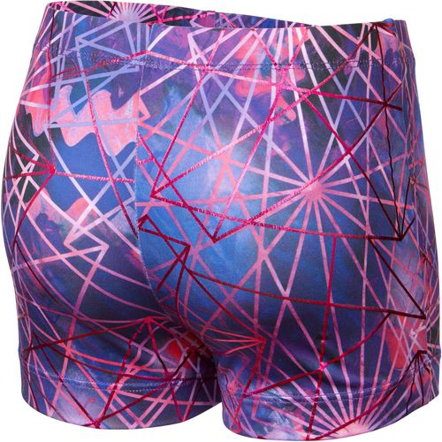 Capezio Girls' Future Star Electric Geometry Printed Short - view number 2