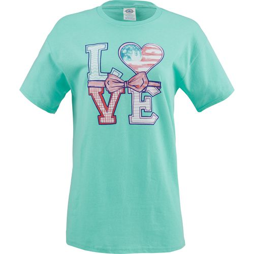 Academy Sports + Outdoors Girls' Love T-shirt