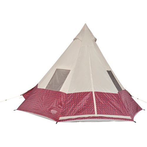 ... Wenzel Shenanigan 5 Person Teepee Tent - view number 2 ...  sc 1 st  Academy Sports + Outdoors & Wenzel Shenanigan 5 Person Teepee Tent | Academy