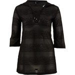 Porto Cruz Women's Hooded Lace-Up Cover-Up Tunic - view number 3