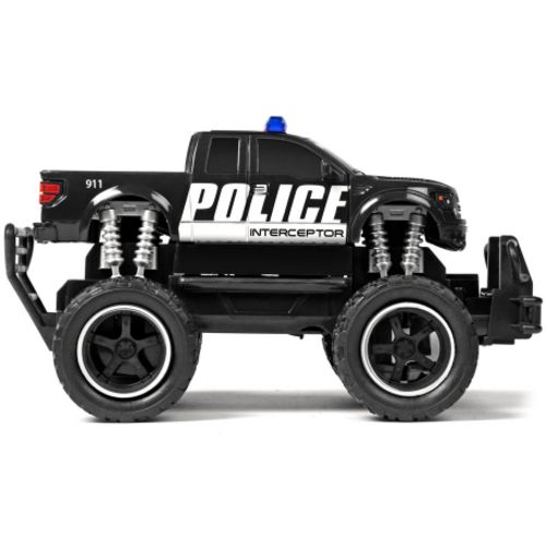 World Tech Toys Ford F-150 SVT Raptor Police Pursuit RTR Electric RC Monster Truck Set - view number 1