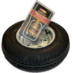 Malone Auto Racks 8 in Galvanized Spare Tire with Locking Attachment - view number 1