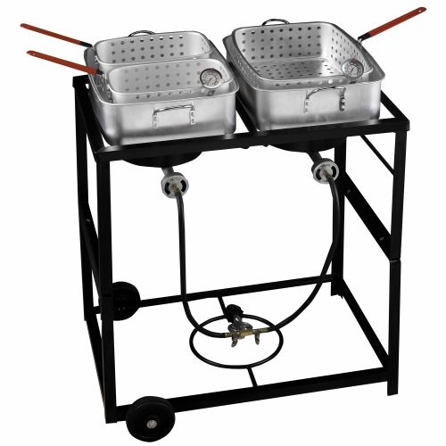 academy outdoor gourmet propane fish fry cart