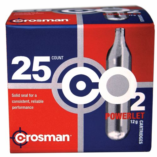 Crosman Copperhead Powerlet 12-Gram CO₂ Cartridges 25-Pack - view number 1
