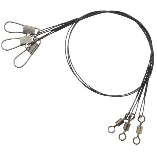 "Eagle Claw 12"" Heavy-Duty Wire Leaders 3-Pack"