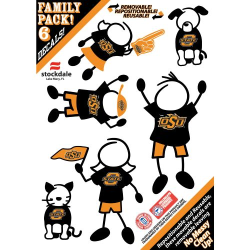Image for Stockdale NCAA Family Decals 6-Pack from Academy