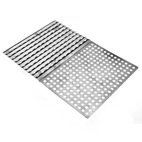 Display product reviews for Mr. Bar-B-Q Reusable Stainless-Steel Searing Topper