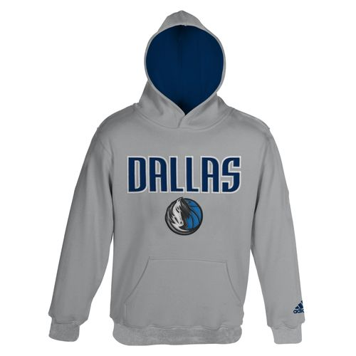 adidas Boys' Dallas Mavericks Pullover Hoodie