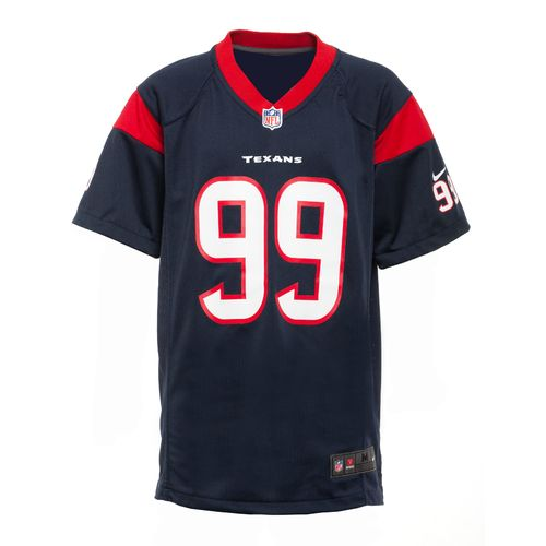 Nike™ Boys' Houston Texans J. J. Watt Replica Jersey