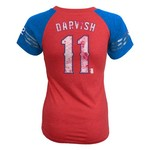 adidas Girls' Texas Rangers Yu Darvish #11 Fashion Jersey T-shirt