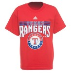 adidas Boys' Texas Rangers Flashbang T-shirt