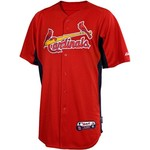 Majestic Adults' St. Louis Cardinals Cool Base™ Batting Practice Jersey