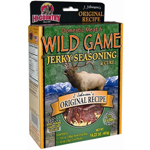 Image for Hi-Country 14.23 oz. Original Recipe Domestic Meat and Wild Game Jerky Seasoning and Cure Kit from Academy