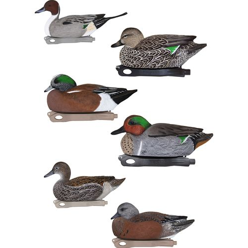 Hard Core Whistler Duck Decoys 6-Pack