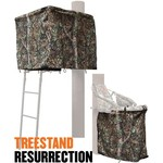 Cottonwood Outdoors Weathershield Treestand Resurrection 1-Panel ADA Blind System Kit - view number 1